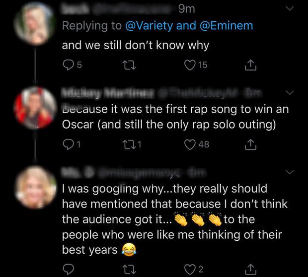Netizen ngỡ ngàng vì Eminem xuất hiện tại Oscars: Sao lớn cỡ nào cũng thành teen quẩy với chú rapper! - Ảnh 10.