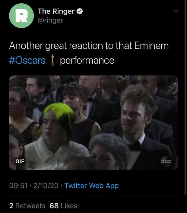 Netizen ngỡ ngàng vì Eminem xuất hiện tại Oscars: Sao lớn cỡ nào cũng thành teen quẩy với chú rapper! - Ảnh 7.