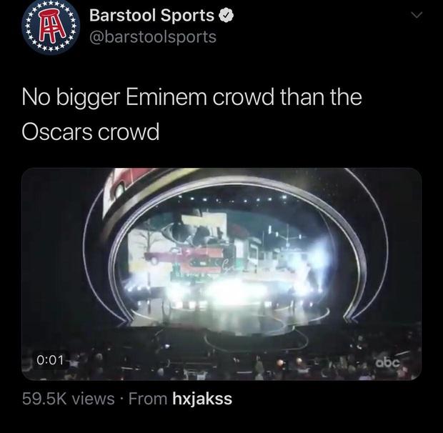 Netizen ngỡ ngàng vì Eminem xuất hiện tại Oscars: Sao lớn cỡ nào cũng thành teen quẩy với chú rapper! - Ảnh 13.