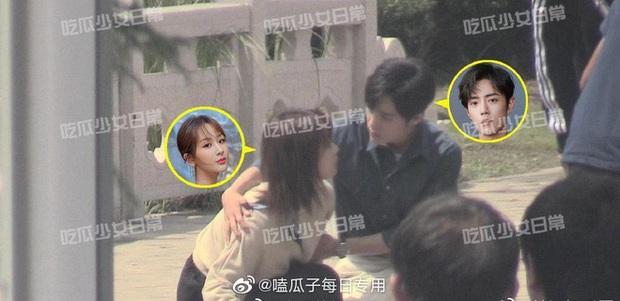 Rò rỉ bức ảnh Tiêu Chiến ghì hôn má Dương Tử cực nóng bùng nổ cả Weibo, chuyện gì đang xảy ra thế này? - Ảnh 4.