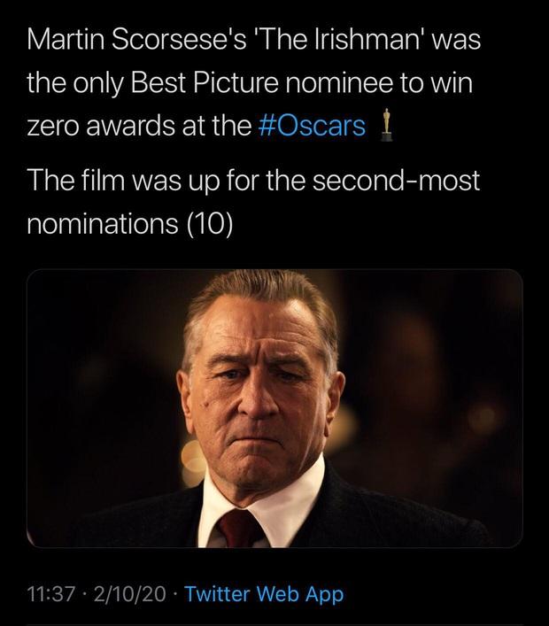 10 khoảnh khắc viral nhất đêm Oscar lịch sử: Người sợ mất tượng vàng bèn cất dưới gầm ghế, đạo diễn Bong gục sau cánh gà - Ảnh 19.