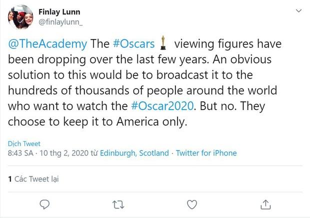 MXH bùng nổ với Oscar 2020: Parasite của chú Bong thắng quá xứng đáng, nhiều tên tuổi lớn bị tiễn ra chuồng gà - Ảnh 2.