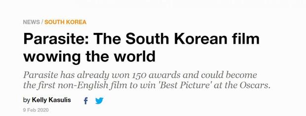 Báo chí toàn thế giới sốc nặng trước thành tích của Parasite: Oscar 2020 bị chỉ trích vì toàn trắng, cuối cùng Châu Á chiến thắng - Ảnh 7.