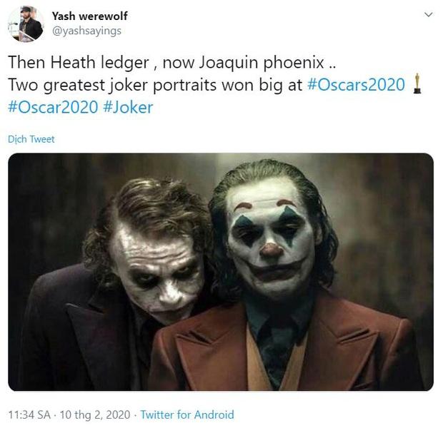 MXH bùng nổ với Oscar 2020: Parasite của chú Bong thắng quá xứng đáng, nhiều tên tuổi lớn bị tiễn ra chuồng gà - Ảnh 8.