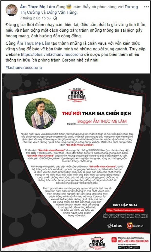 """Sao Vbiz cùng đông đảo KOLs đồng loạt hưởng ứng chiến dịch """"Lá chắn virus corona"""": Bảo vệ mình và xã hội đang là việc làm cấp thiết - Ảnh 42."""