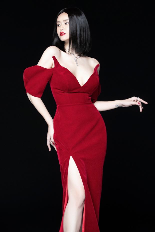 Trương Quỳnh Anh lột xác sexy hậu ly hôn: Diện váy xẻ sâu hun hút khoe trọn ngực đầy, nhan sắc ngày càng thăng hạng - Ảnh 3.