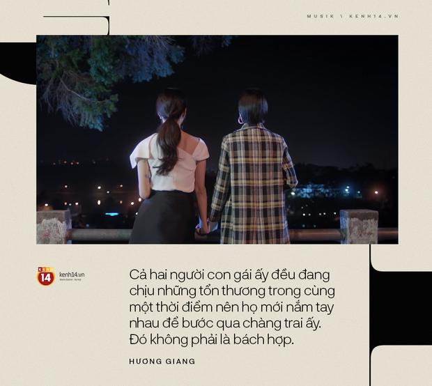 """Hương Giang: """"Mọi người mong chờ gì việc nghe nhạc ở một MV drama dài 12 phút""""? - Ảnh 8."""