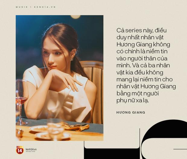 """Hương Giang: """"Mọi người mong chờ gì việc nghe nhạc ở một MV drama dài 12 phút""""? - Ảnh 9."""