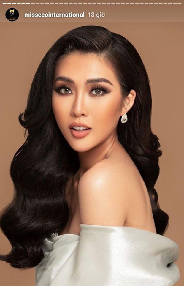 Hồng Trang vừa được chọn, Tường Linh nay bất ngờ xuất hiện trên trang chủ Miss Eco International 2020: Đại diện Việt Nam đã thay đổi? - Ảnh 1.