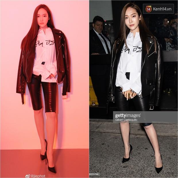 """Jessica Jung lên đồ """"chanh sả"""" dự NYFW nhưng lại bị phóng viên quốc tế dìm thê thảm, lộ từ chân ngắn đến mặt trắng bệch lệch tông - Ảnh 5."""