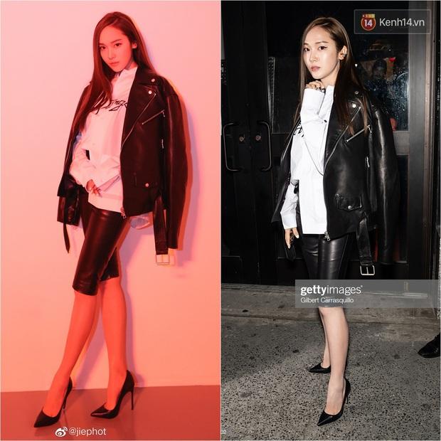 """Jessica Jung lên đồ """"chanh sả"""" dự NYFW nhưng lại bị phóng viên quốc tế dìm thê thảm, lộ từ chân ngắn đến mặt trắng bệch lệch tông - Ảnh 6."""