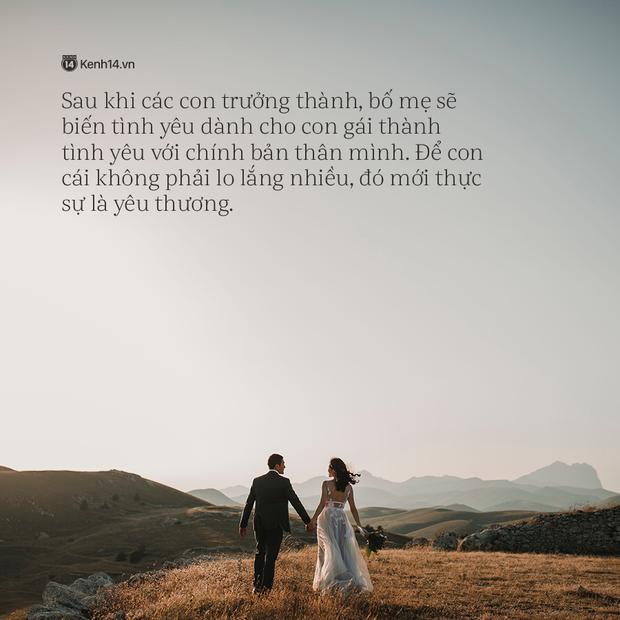 Thư bố gửi chàng rể tương lai: Người con cưới không phải vợ con mà chính là sinh mệnh của bố - Ảnh 5.