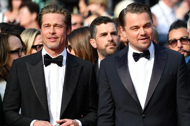 Khoảnh khắc ngôn tình hot nhất Oscar 2020: Leonardo nhìn Brad Pitt đắm đuối, tay nắm chặt tay như chỉ đôi ta tồn tại - Ảnh 7.