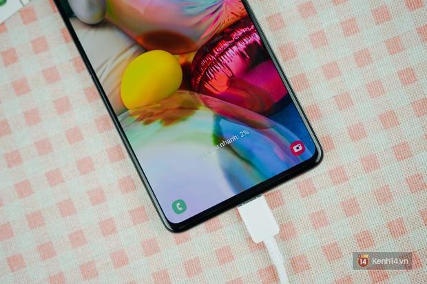 Đánh giá pin Galaxy A71: Dùng tẹt bô cả ngày, sạc siêu nhanh không lo yếu sinh lý - Ảnh 10.