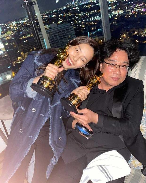 Hoa hậu Hàn và Gong Hyo Jin bỗng bị khủng bố vì dự tiệc hậu Oscar, căng đến mức team Ký sinh trùng phải lên tiếng - Ảnh 2.