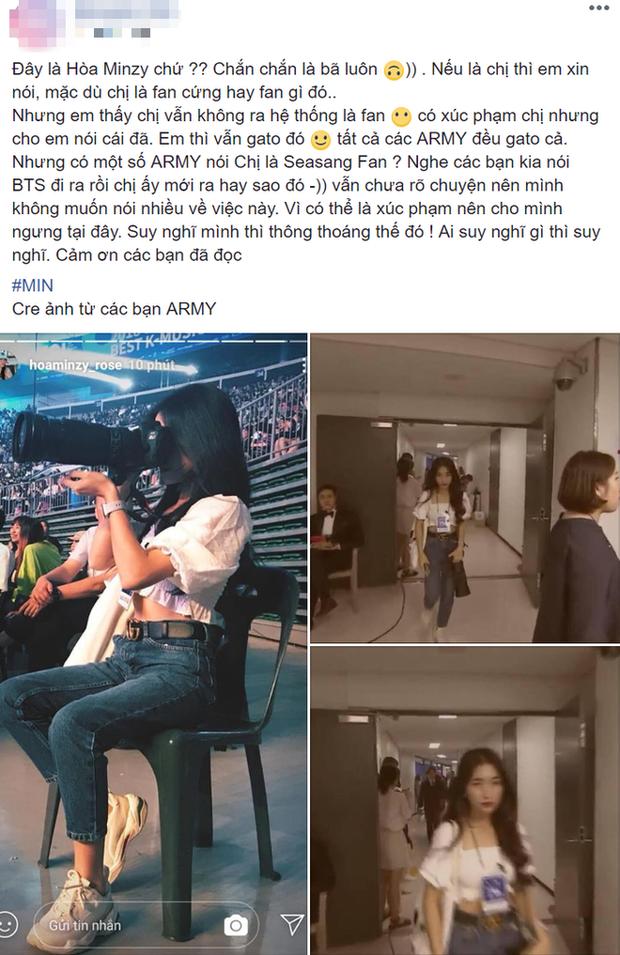 Khi sao Việt là fan cứng Kpop: Sơn Tùng M-TP hâm mộ Tiffany (SNSD) mà chẳng ai hay, Hòa Minzy thần tượng BTS - GOT7 nhưng luôn... dính phốt - Ảnh 15.
