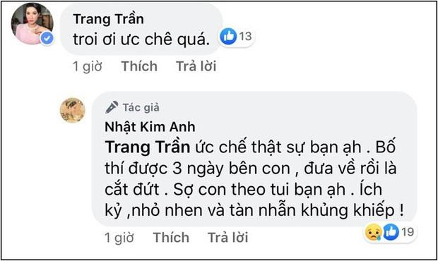 Chồng cũ Nhật Kim Anh bất ngờ đăng status đầy ẩn ý sau thời gian liên tục bị tố tệ bạc, ngăn cản chuyện gặp con - Ảnh 4.
