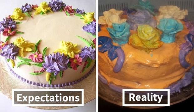 Những tai nạn nhớ đời khi đặt bánh kem trên mạng và hàng nhận được thực tế: Càng nhìn càng thấy chẳng giống nhau ở điểm nào? - Ảnh 14.