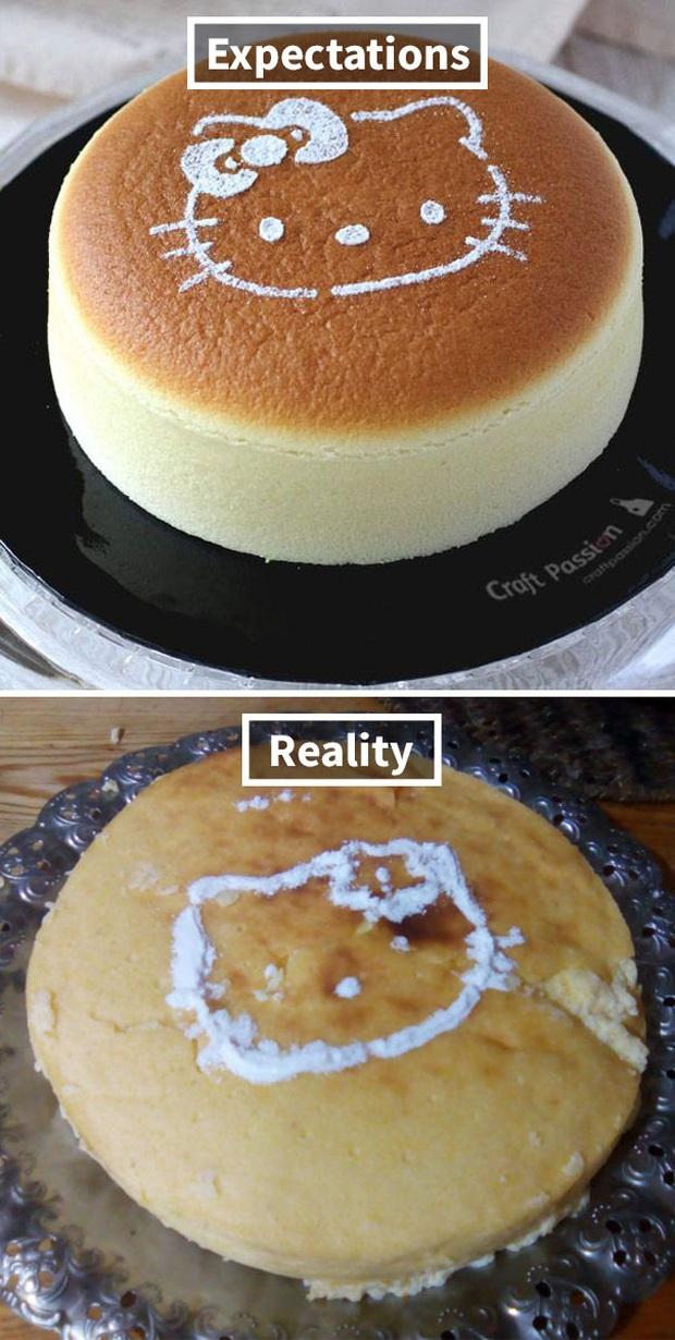 Những tai nạn nhớ đời khi đặt bánh kem trên mạng và hàng nhận được thực tế: Càng nhìn càng thấy chẳng giống nhau ở điểm nào? - Ảnh 10.