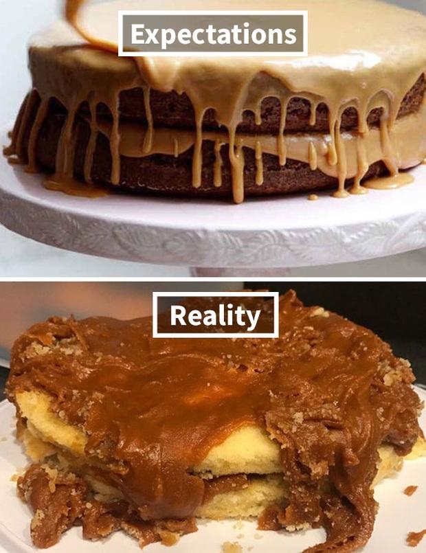 Những tai nạn nhớ đời khi đặt bánh kem trên mạng và hàng nhận được thực tế: Càng nhìn càng thấy chẳng giống nhau ở điểm nào? - Ảnh 20.