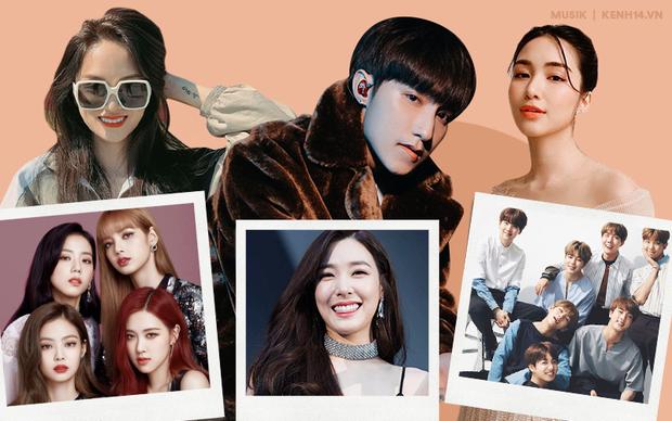 Khi sao Việt là fan cứng Kpop: Sơn Tùng M-TP hâm mộ Tiffany (SNSD) mà chẳng ai hay, Hòa Minzy thần tượng BTS - GOT7 nhưng luôn... dính phốt - Ảnh 1.