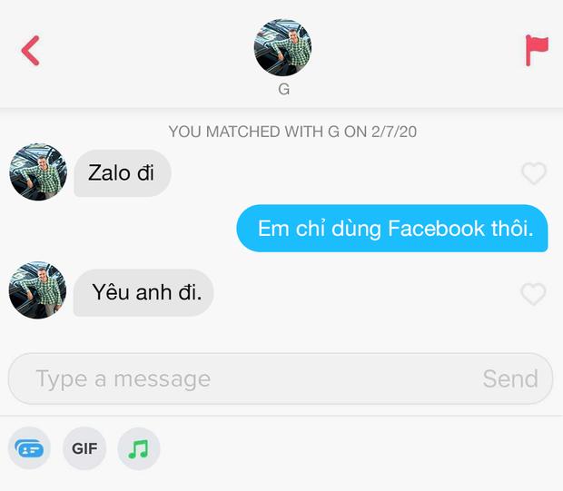 Hé lộ 12 đoạn chat đọc xong muốn bỏ dùng Tinder: Khi bạn order real love nhưng thượng đế thử thách bằng 7749 trò đùa - Ảnh 7.