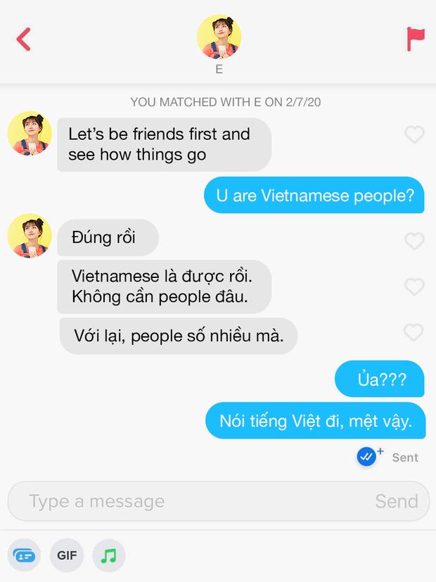 Hé lộ 12 đoạn chat đọc xong muốn bỏ dùng Tinder: Khi bạn order real love nhưng thượng đế thử thách bằng 7749 trò đùa - Ảnh 5.