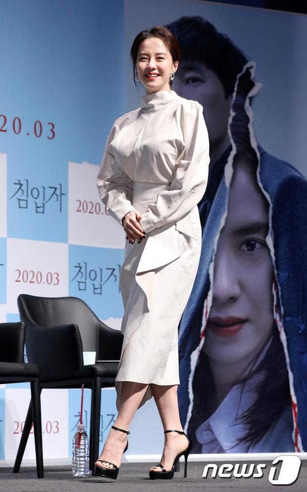 Lâu lắm Mợ ngố Song Ji Hyo mới dự sự kiện: Nhan sắc đúng là biến hóa khó lường, chị ăn thịt Đường Tăng hay gì? - Ảnh 2.