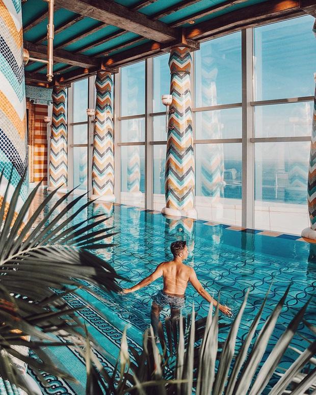 Bên trong khách sạn 7 sao duy nhất thế giới ở Dubai, hoá ra vì quá đẳng cấp nên du khách quốc tế tự gắn thêm cho… 2 sao? - Ảnh 15.