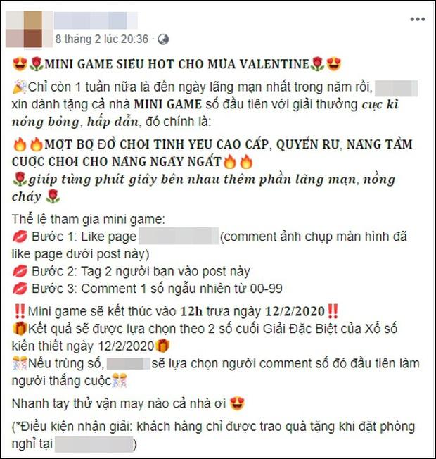Khách sạn tình yêu kiểu 50 sắc thái gây xôn xao dịp Valentine, liên tục tung chiêu mời chào trên mạng xã hội - Ảnh 5.