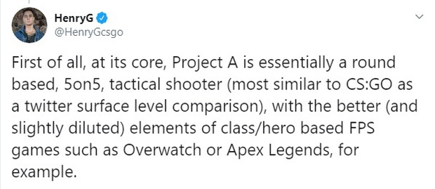 Tựa game bắn súng Project A của Riot Games nhận nhiều phản hồi tích cực từ BLV của CS:GO, đáng chơi hơn Overwatch hay Apex Legends - Ảnh 2.