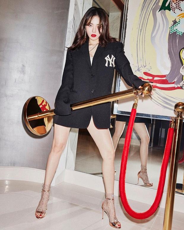 """Tái đụng hàng với Hyuna sau 5 năm: Ngọc Trinh đã hết """"phèn"""", mix đồ sang và sexy không kém - Ảnh 3."""