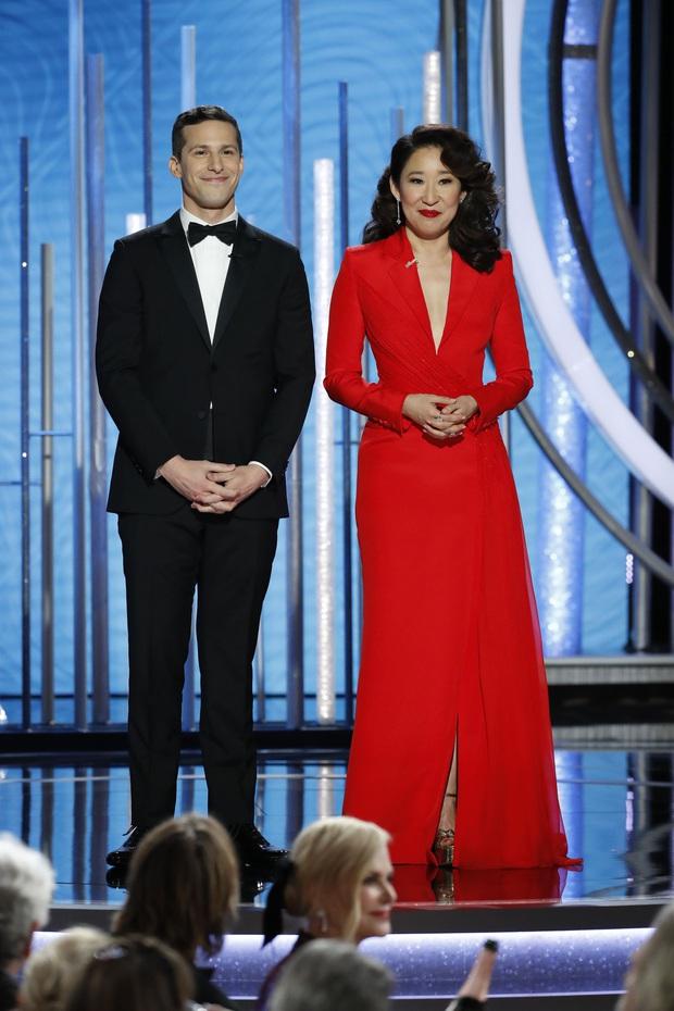 Cái tên Công Trí lại xuất hiện trên thảm đỏ tiệc hậu Oscar, được diện bởi diễn viên Hàn nổi tiếng nhất thế giới - Ảnh 5.