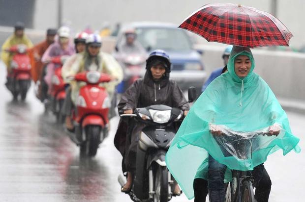 Sau nhiều ngày có nắng, miền Bắc lại chuẩn bị đón không khí lạnh mạnh và mưa vào cuối tuần - Ảnh 1.