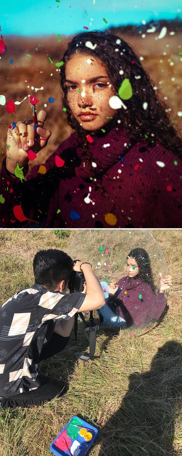 Loạt ảnh Behind The Scenes chứng minh sự thần kỳ của photoshop, từ những đạo cụ bình thường cũng thành tác phẩm nghệ thuật - Ảnh 3.