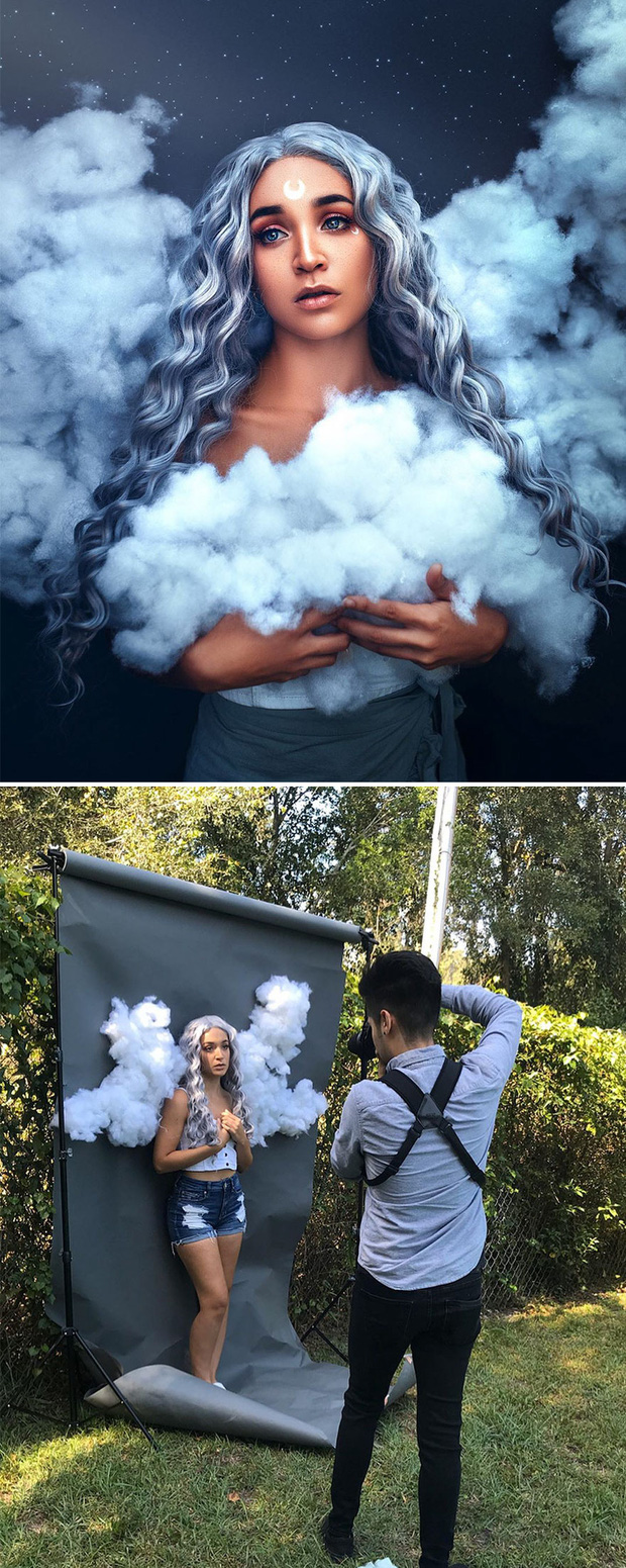 Loạt ảnh Behind The Scenes chứng minh sự thần kỳ của photoshop, từ những đạo cụ bình thường cũng thành tác phẩm nghệ thuật - Ảnh 11.