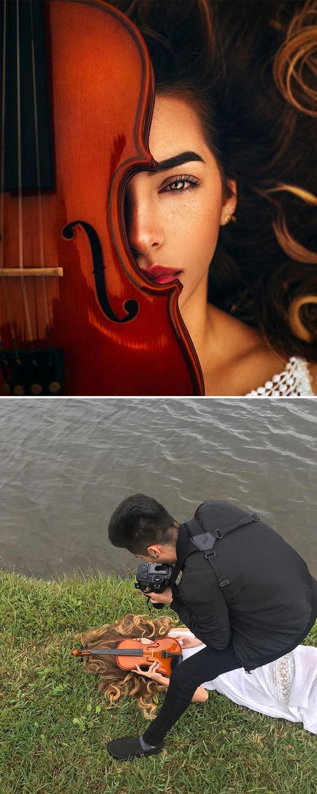 Loạt ảnh Behind The Scenes chứng minh sự thần kỳ của photoshop, từ những đạo cụ bình thường cũng thành tác phẩm nghệ thuật - Ảnh 9.