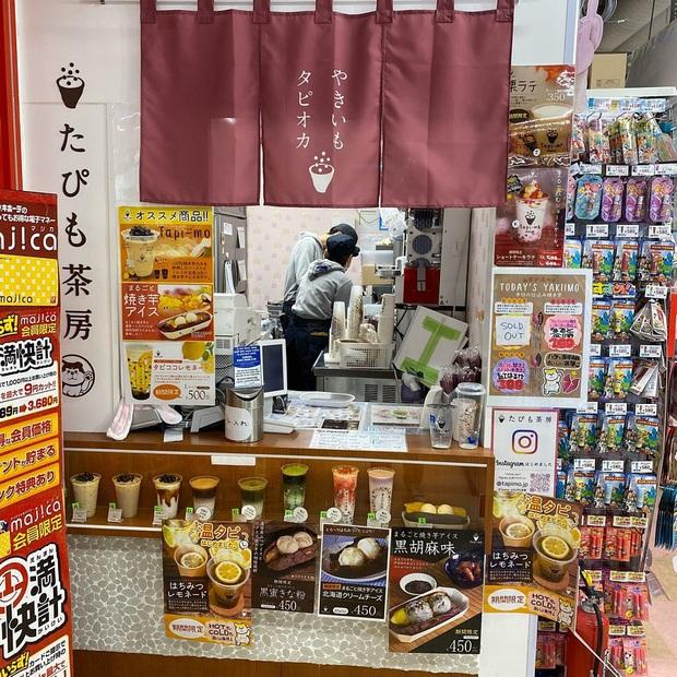 Món ăn gây hoang mang tại Nhật Bản vì không biết nên gọi tên sao cho đúng: là kem khoai lang hay khoai lang kẹp kem đây? - Ảnh 3.