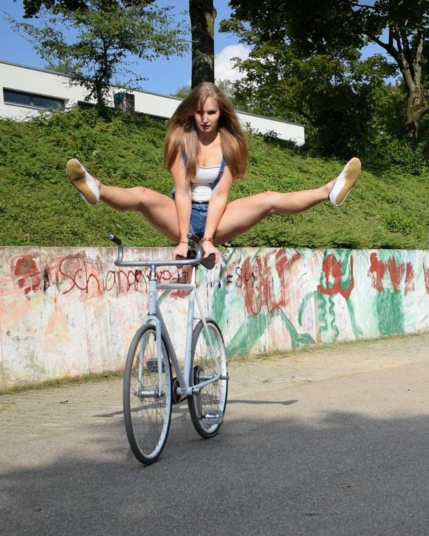 Ấn tượng với nữ hoàng xe đạp nghệ thuật: Cô nàng xinh đẹp theo đuổi bộ môn ít ai biết tới - Ảnh 7.