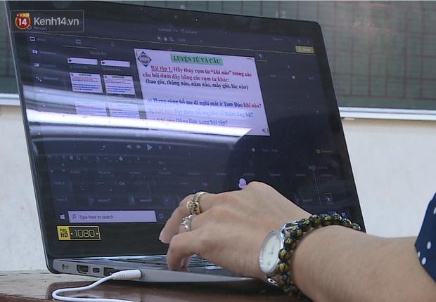 Clip: Cận cảnh giáo viên ứng dụng công nghệ 4.0 dạy học trực tuyến trong mùa dịch Covid-19 - Ảnh 6.