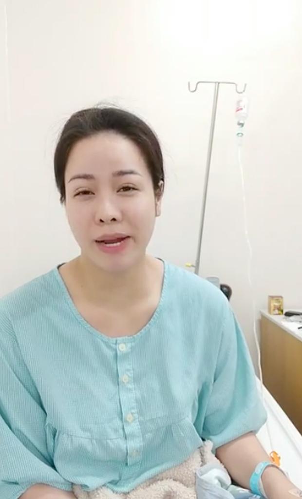 Nhật Kim Anh bất ngờ nhập viện, gương mặt tiều tuỵ thấy rõ sau thời gian liên tục vướng mâu thuẫn với chồng cũ - Ảnh 1.