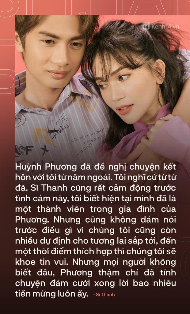 Valentine nghe chuyện tình yêu Sĩ Thanh - Huỳnh Phương: Chúng tôi đã nghĩ đến chuyện kết hôn, còn tính luôn tiền mừng lãi! - Ảnh 13.