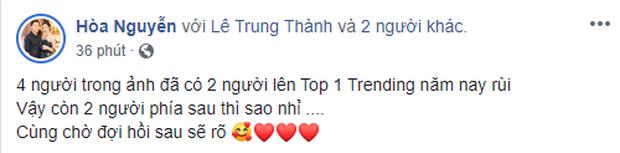 Bộ đôi top 1 trending Hương Giang - Đức Phúc đăng ảnh vẫy gọi, Hòa Minzy - Erik liệu liệu comeback nhanh để trả lời đi xem nào? - Ảnh 1.