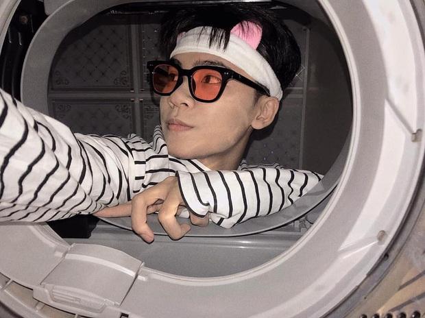 Đưa mặt vào máy giặt - trend chụp hình mới của dân mạng: Tưởng ngớ ngẩn mà lại xịn sò ra trò - Ảnh 2.