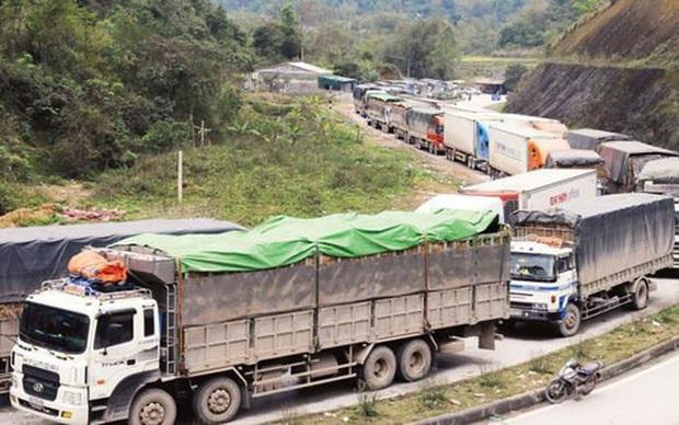 Sau khi thông quan, container chở nông sản Việt tiếp tục mắc kẹt ở Trung Quốc - Ảnh 1.