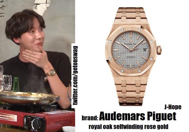 Nhìn giá những chiếc đồng hồ đắt nhất của các trai nhà BTS mà muốn tiền đình: Hạt dẻ cũng 148 triệu, đỉnh cao là 1,6 tỷ VNĐ - Ảnh 5.