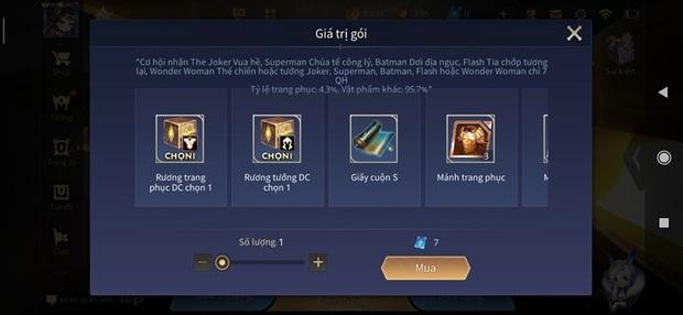 Liên Quân Mobile: Game thủ có thể sở hữu tướng DC giá 28.888 vàng cùng trang phục chỉ bằng vài quân huy! - Ảnh 2.