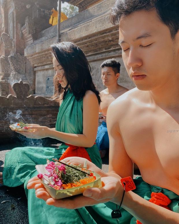 Chia sẻ chuyến đi Bali nên duyên với Hà Trúc nhưng những lời đường mật của cơ trưởng Quang Đạt dành cho bạn gái mới khiến nhiều người tan chảy - Ảnh 1.