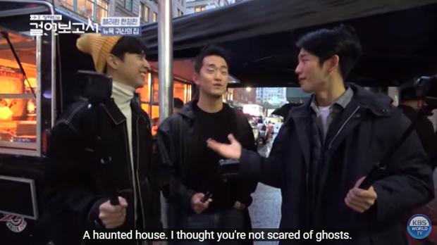 Jung Hae In phấn khích rủ bạn đi khám phá nhà ma nhưng lại bị nghiệp quật tơi bời, sợ đến hồn bay phách lạc - Ảnh 6.