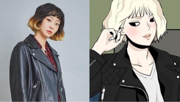 Tạo hình nhân vật Tầng Lớp Itaewon so với webtoon: Park Seo Joon ngầu ngang ngửa, Kim Da Mi màu mè hơn trong truyện - Ảnh 3.